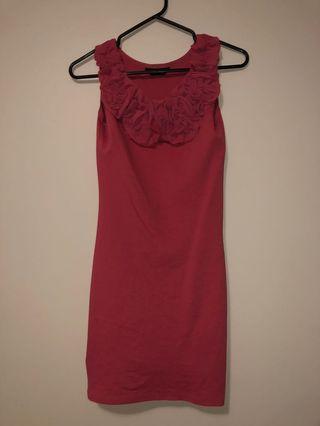 Miss selfridges dress pink