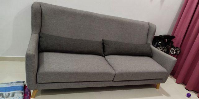 Scandinavian Sofa 3 Seater