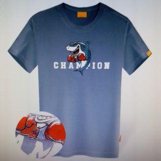 Boxing champion鯊魚T-shirt (韓國代購)