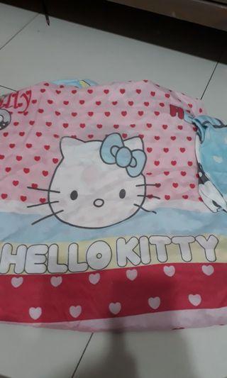 Hello kitty bedsheet