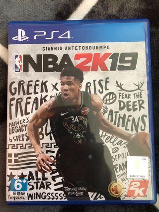 🚚 PS4 NBA2K19 遊戲片