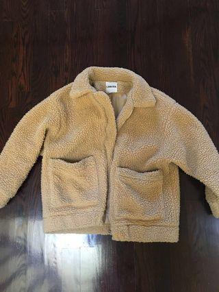 I AM GIA pixie coat size XS sherpa #SwapCA