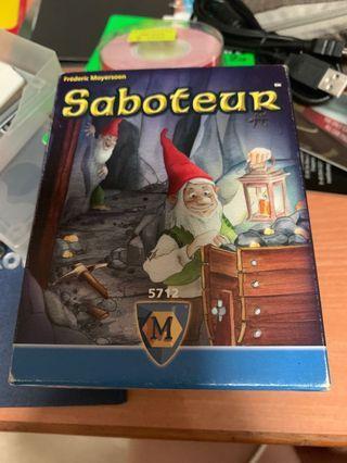 🚚 Saboteur - used