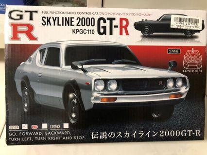 Nissan Skyline 2000 GTR Radio control RC control car from Toreba Japan