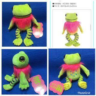 🚚 #日本Sunlemon玩偶娃娃KElko MlYATA青蛙🐸玩偶