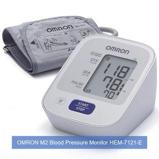 [April Sales] Brand New & Authentic OMRON Healthcare M2 Upper Arm Blood Pressure Monitor and FREE SAME DAY DOORSTEP DELIVERY at S$63!