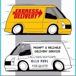 Express Delivery/Room Moving Transport Service