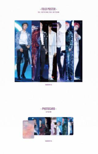 [WTB/LF] BTS LOVEYOURSELF DVD POSTER AND PHOTOCARD