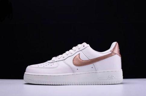 🚚 Rose Gold Tick Nike Airforce