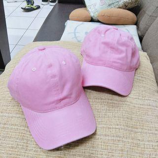 🚚 粉色帽子x2