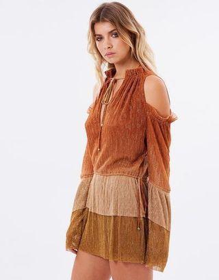 Bec & Bridge Indian Sunset Mini Dress RRP $300