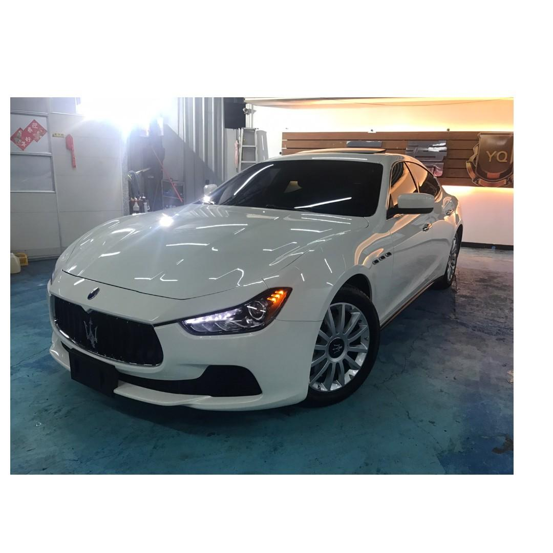 2014年 Maserati Ghibli Premium 206.8萬 ~~ 非自售 一手 女用車