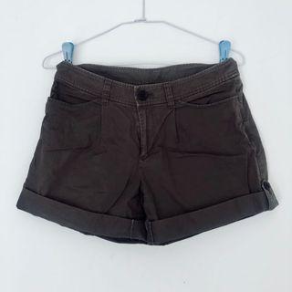 Muji 軍綠短褲