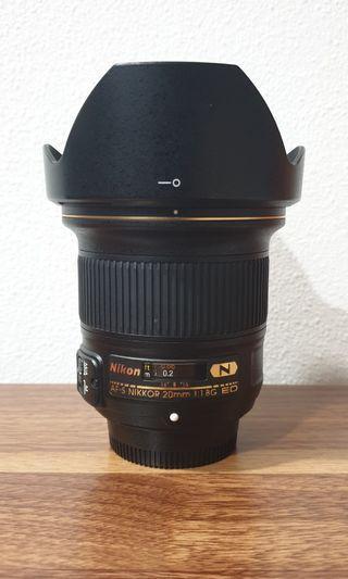 🚚 Nikon AF-S 20mm f/1.8G ED