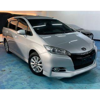 正2013年 最新款2.5代七速Toyota Wish 2.0E  破盤價36.8萬