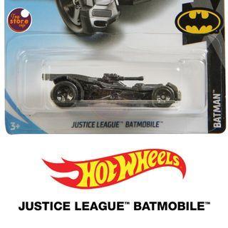 JUSTICE LEAGUE BATMOBILE - Hot Wheels - ORIGINAL