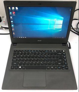 Acer Aspire E5 i5-6th gen / 4gb ram / 500gb hdd