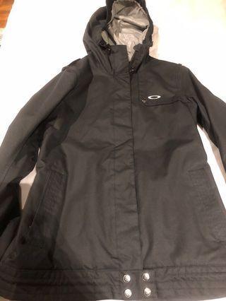 Oakley black shell ladies ski/snowboard jacket
