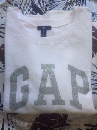 Sweater GAP Putih UK L