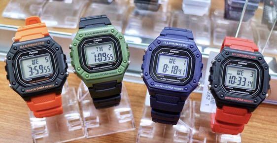 🚚 Casio Standard Digital Watch W218H