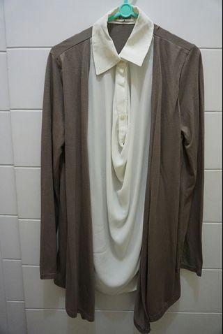White milo shirt