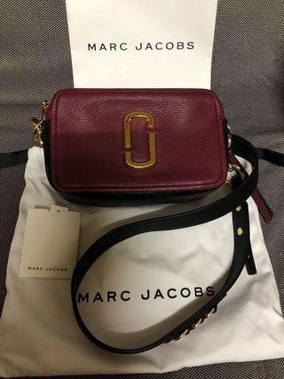 MARC JACOBS 軟牛皮相機包/MJ相機包