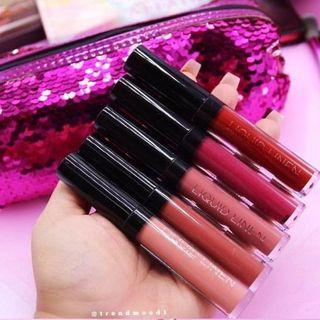 BH Cosmetics Royal Affair Liquid Linen Matte Lip Set