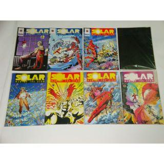 Valiant: Solar Man of the Atom; Turok; Bloodshot; X-Geomancer; Eternal Warrior