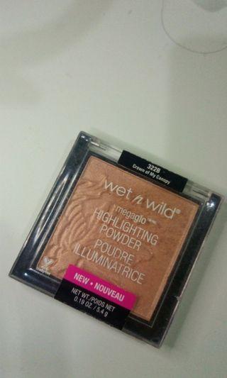 Wet n wild megaglo highlighting powder (crown of my canopy)