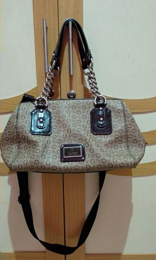 Guess hand bag authentic