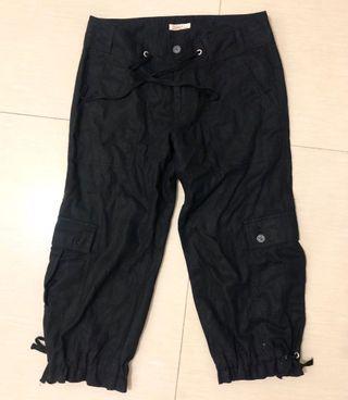 Japanese Brand Cargo Pants Cropped Cargo Pants Unisex