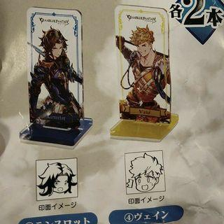 (Looking For) Granblue Fantasy Kuji Vane Acrylic Stand and Stamp