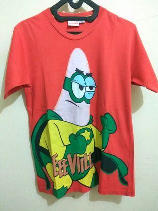 Kaos T-Shirt Nickleodeon Patrick