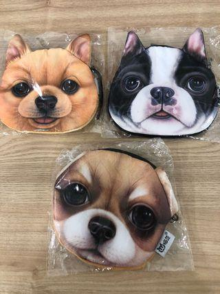 Dogs coin pouch