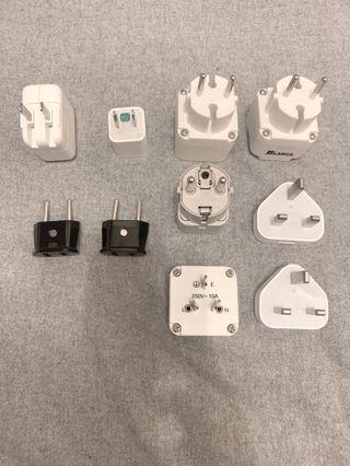 各國旅行萬國插頭 International Adapters