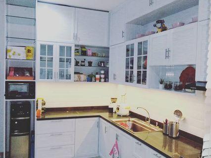 Aluminium kitchen set