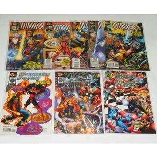Malibu: Ultraforce vs Avengers / Ultraforce / All New Exiles / Godwheel / Rune