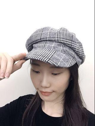 🚚 日本千鳥格報童帽