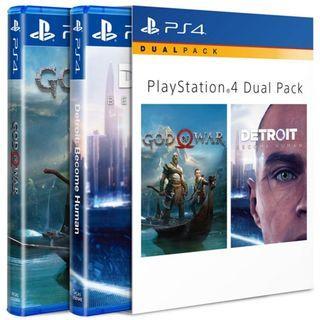 🚚 PS4 Dual Pack Bundle