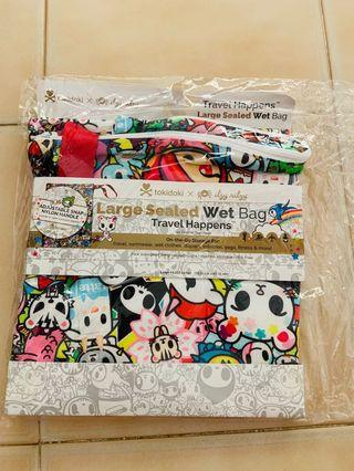 Itzy Ritzy Wet Bag Tokidoki All Stars - Large