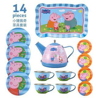 Peppa Pig Family Girl Afternoon Tea Party Cooking Toy Play Set