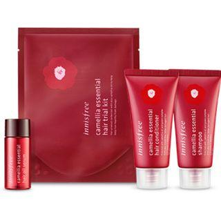 BN Innisfree Camellia Essential Hair Trial Kit