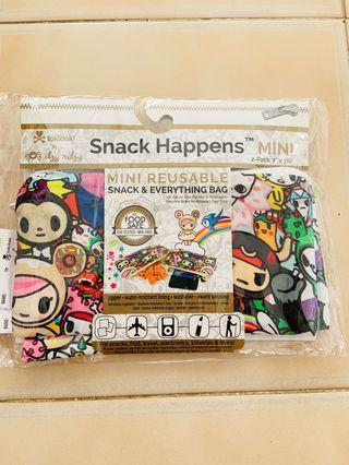 Itzy Ritzy Snack Bag Mini Tokidoki All Stars (2-pack)