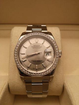 Rolex Datejust 116200  36mm Automatic