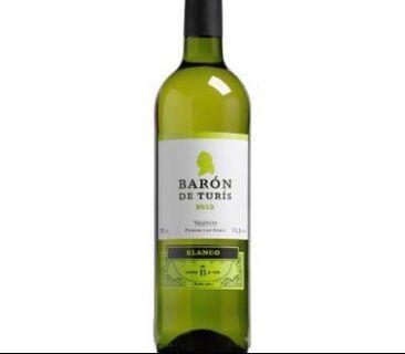 White Wine - Baron De Turis Blanco 2017