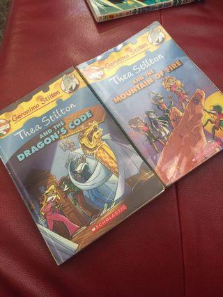 🚚 Thea Stilton's and the Dragon's Code or And the Mountain of Fire