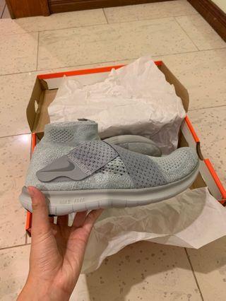 Authentic Nike Free Run Motion Flyknit 2017 Grey