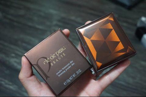 🚚 Cle de peau bronzing duo powder
