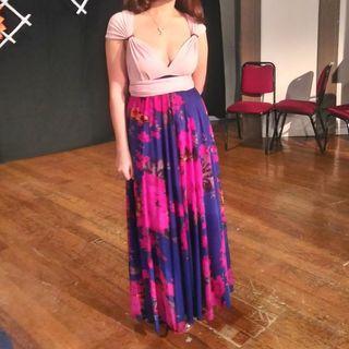 Infinity dress (Floral) / Formal Dress For rent/sale