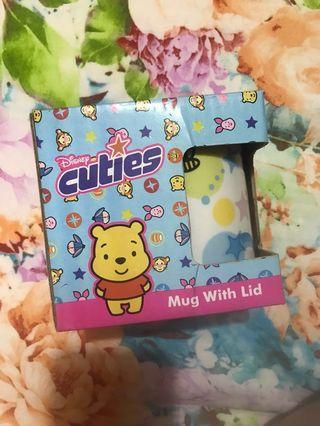 Mug with lid 小熊維尼 Winnie the Pooh 杯
